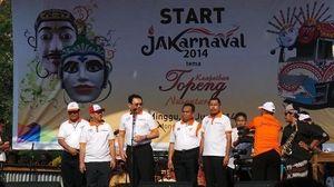 Jokowi Absen, Jakarnaval Tahun Ini Tak Ada Kostum Unik Sang Gubernur