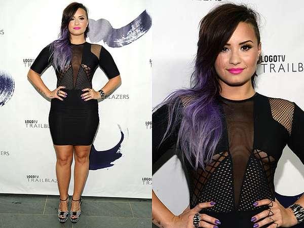 Gaya Eksentrik Seksi Demi Lovato