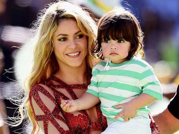 Pipi Chubby Milan, Putra Shakira yang Menggemaskan