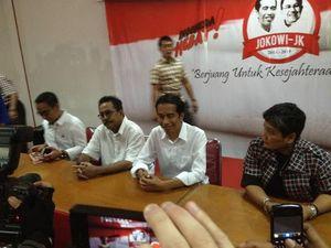 Sambangi Markas DPD PDIP Banten, Jokowi Dielukan Pak Presiden