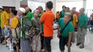 176 Pemulung dan Pengemis di Jakarta Dipulangkan ke Kampung Halamannya