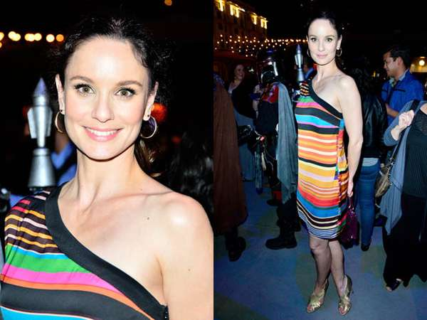 Dress Warna-warni Sarah Wayne Callies