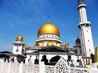Masjid Bandar Diraja, Masjid Kubah Emas Ala Kota Klang Malaysia