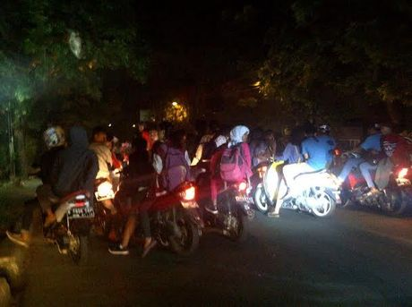 aksi sahur on the road