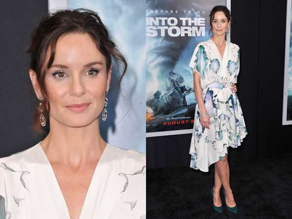 Sarah Wayne Callies di Premiere Into The Storm