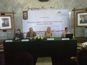 UI Buka Pendaftaran Calon Rektor Periode 2014-2019