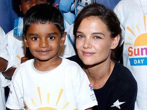 Katie Holmes dan Anak-anak Pengidap Kanker di Marvel Universe Live