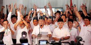 Komitmen Golkar, PKS dan PPP Setia ke Prabowo