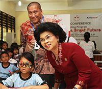 Satu Hati Berbagi Untuk Indonesia 2014: Laporan Q3 Partisipasi Pelanggan melalui Pundi Amal