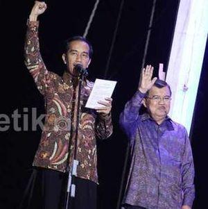 Jokowi-JK Kini Sudah Dijaga Paspampres