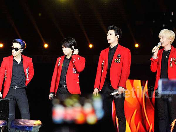 Super Junior-M Membara di GBK