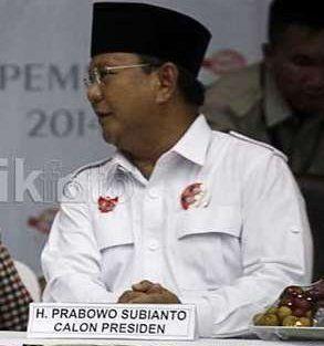 Gugatan Kubu Prabowo Tidak Diterima PTUN
