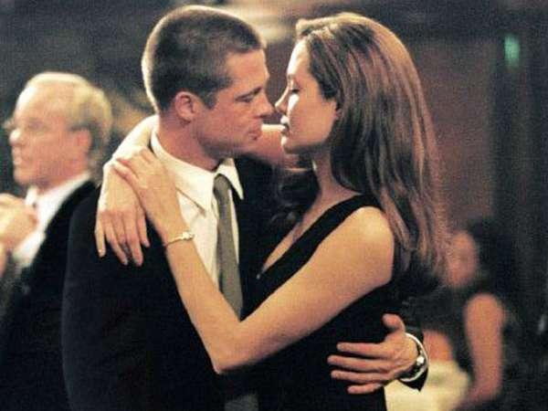 Momen-momen Indah Brad Pitt dan Angelina Jolie