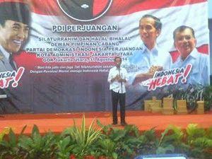 Di Hadapan Kader PDIP, Jokowi Curhat Sempat Tak Yakin Menangkan Pilpres