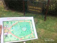 Sst, Ada Taman Rahasia di Taman Bunga Nusantara Cianjur