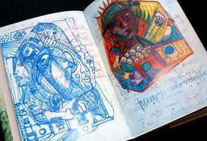 Yuk, Intip Lima Buku Sketsa Seniman Dunia