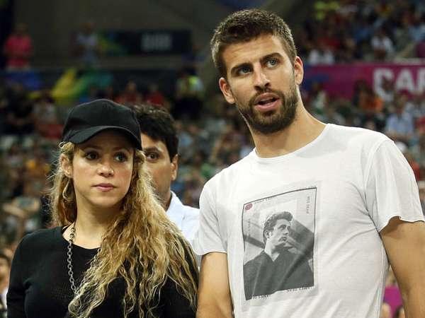 Shakira dan Pique Kencan di Pertandingan Basket