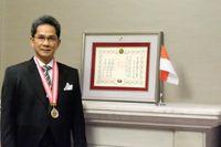 Yusron Ihza Mahendra, Jadi WNI Pertama Raih Penghargaan dari Jepang Ini
