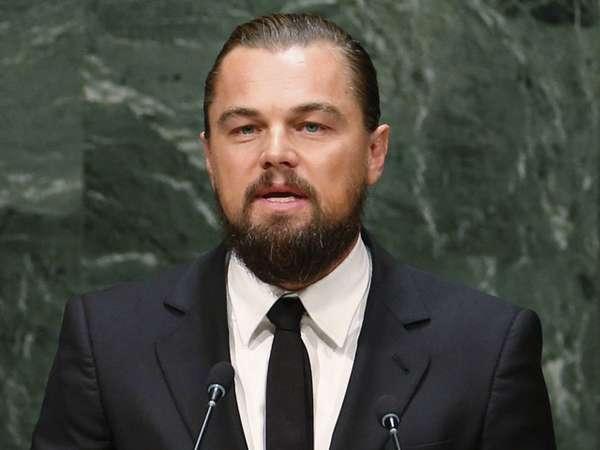 Leonardo DiCaprio di Konferensi Tingkat Tinggi Iklim