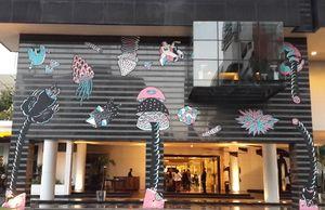 Karya Seni Ini Bertebaran di Hotel Kemang