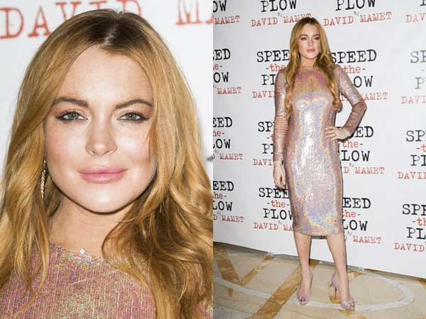 Shiny and Sparkly, Lindsay Lohan