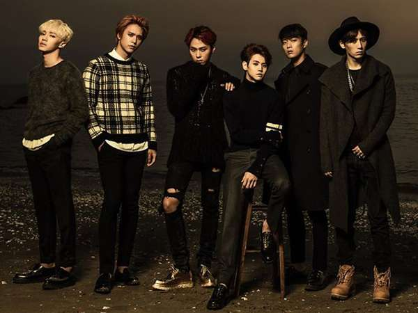 BEAST Rilis Foto Mini Album TIME