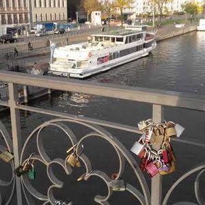 Eiserner Steg, Jembatan Gembok Cinta di Frankfurt