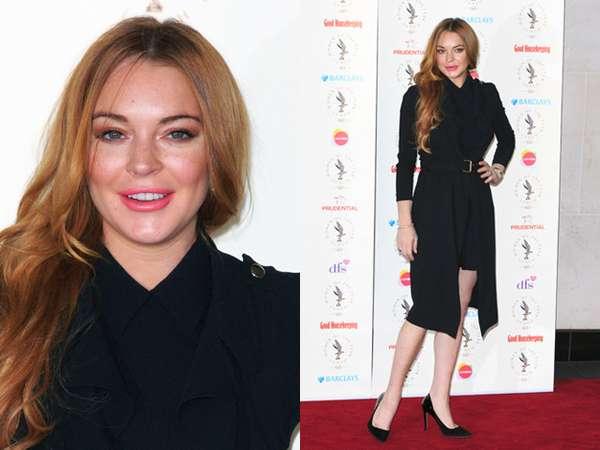 Woman in Black, Lindsay Lohan