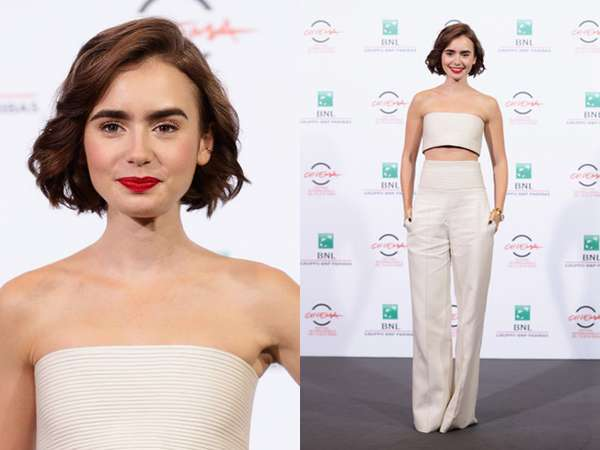 Lily Collins Makin Seksi