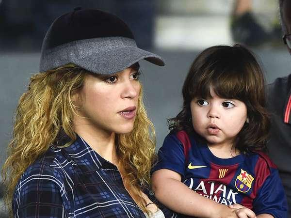 Milan, Putra Shakira yang Lucu dan Menggemaskan