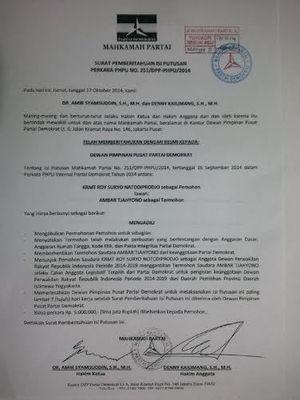 Demokrat Pecat Ambar Tjahyono, Roy Suryo Bisa Dilantik Jadi Anggota DPR