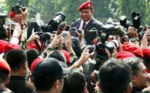 Dihadiri Ical Hingga Hatta, Prabowo Gelar Syukuran KMP di Hambalang