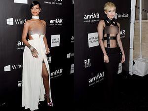 Parade Gaun Superseksi, dari Rihanna Hingga Miley Cyrus