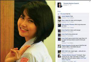 Pramugari Cantik ini yang Layani Jokowi dan Iriana di Pesawat Kepresidenan