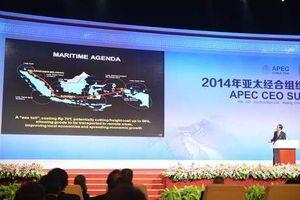 Pidato Java-English Presiden Jokowi di Depan Para CEO Tak Langgar UU