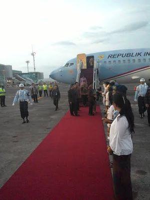 Agenda di Myanmar Selesai, Jokowi Transit di Bali Lalu ke Brisbane