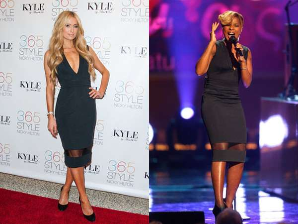 Paris Hilton vs Mary J. Blige, Who Wore It Better?