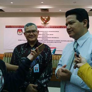 KPU Teken Kerja Sama dengan LIPI Bentuk Lembaga Riset Pemilu