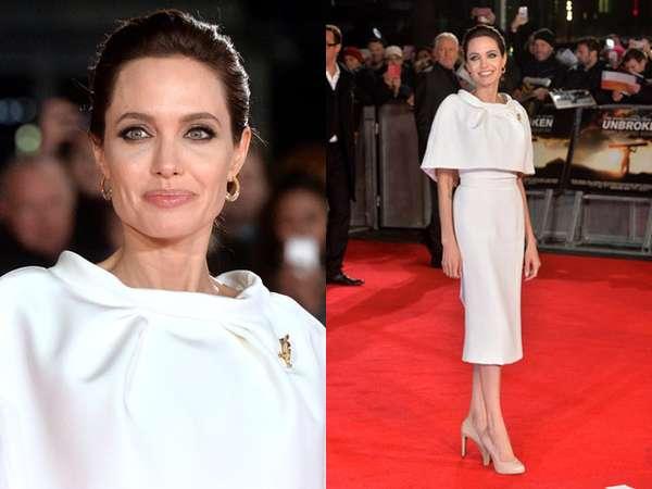 Angelina Jolie Anggun di Premiere 'Unbroken'