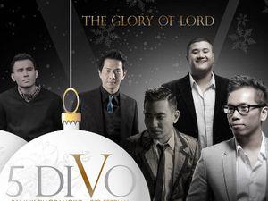 Tergabung dalam 5 Divo, Rio Febrian Hingga Judika Rilis Album Natal