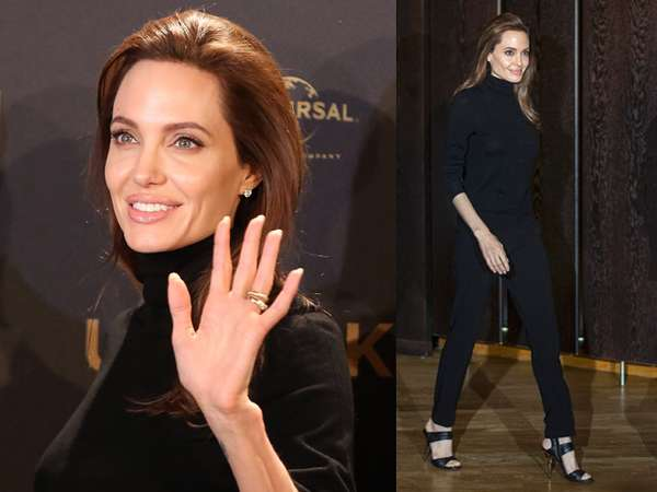 Angelina Jolie Tampil Natural di Berlin