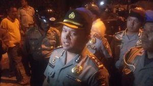 Polisi Amankan 8 Mahasiswa yang Ricuh di Jl Diponegoro