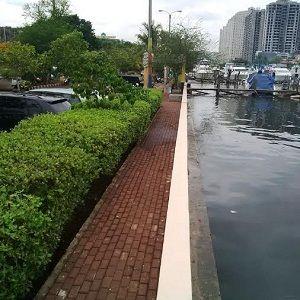 Air Laut Pasang, Air Mulai Merembes dari Tanggul di Marina Ancol