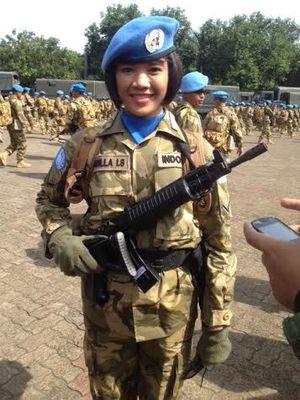 Sersan Cantik ini Rela Diputus Pacar Demi Misi Perdamaian ke Lebanon