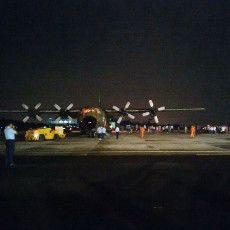 3 Hercules Angkut 494 Orang TKI Ilegal Tiba di Lanud Halim Perdanakusuma
