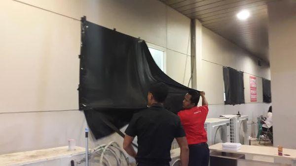 Properti di Posko Crisis Center Juanda Surabaya Mulai Dikemasi
