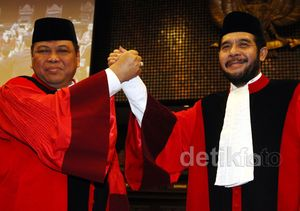 Arief Hidayat Dilantik Jadi Ketua MK