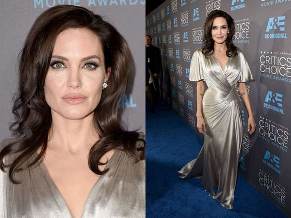 Gorgeous... Angelina Jolie Bersinar di Critics Choice Awards