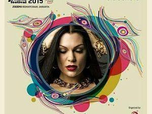 Jessie J Manggung di Java Jazz 2015