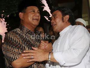Goyang Dangdut Rhoma Irama, Tim Prabowo yang Kini Dirangkul Jokowi